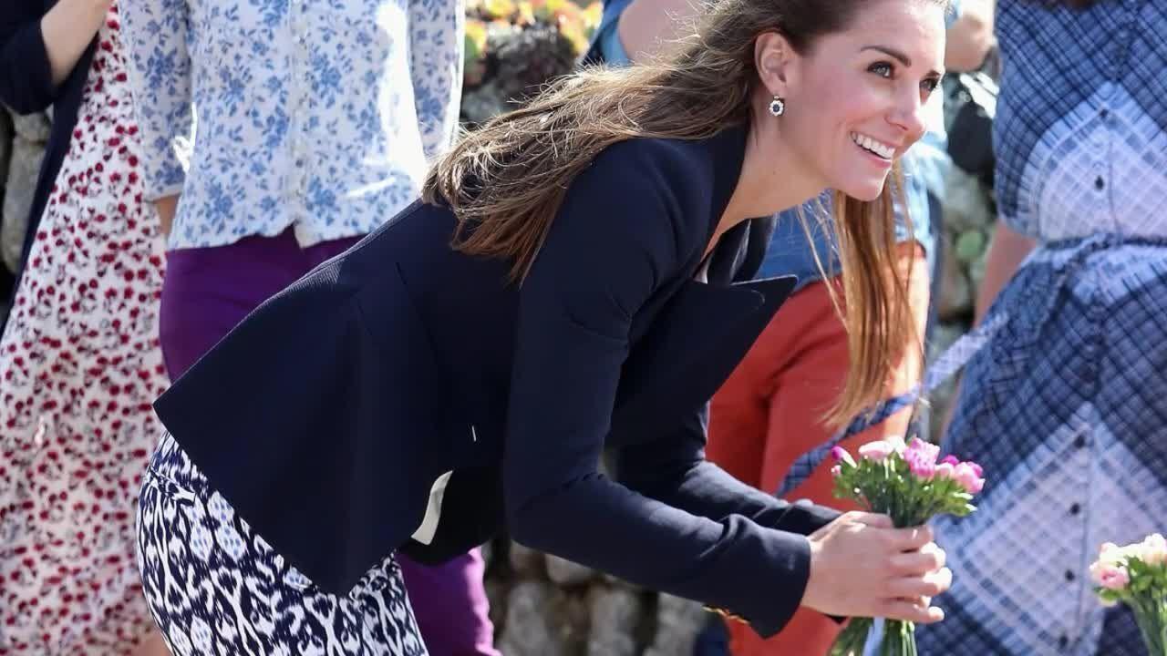 Herzogin Kate zeigt sich in 30-Euro-Hose - jetzt will sie jeder haben!