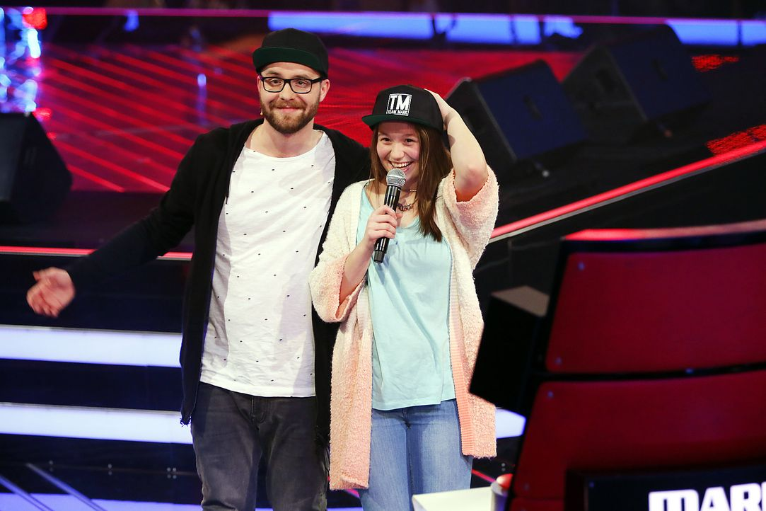 The-Voice-Kids-Stf03-Epi04-10-Antonia-SAT1-Richard-Huebner - Bildquelle: SAT.1/Richard Huebner