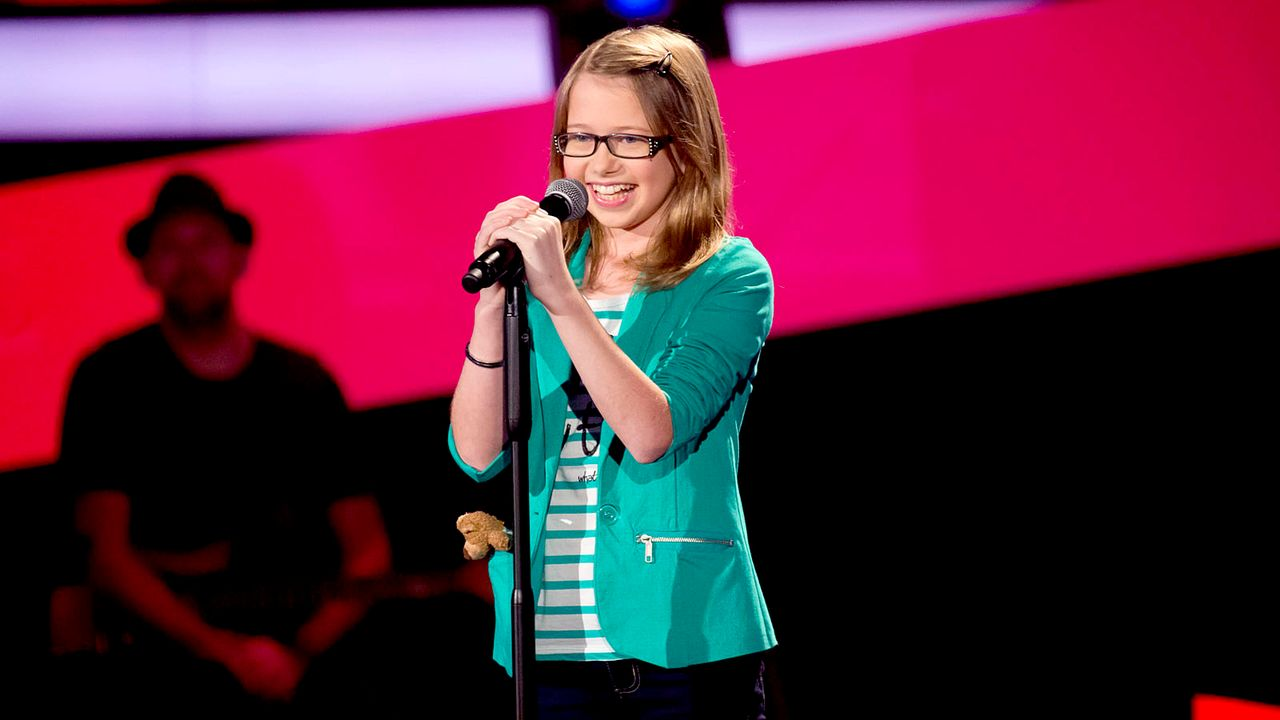 The-Voice-Kids-s01e01-Laura-038 - Bildquelle: SAT.1/Richard Hübner