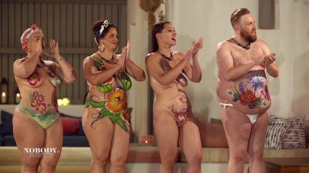 No Body Is Perfect - Das Nacktexperiment - No Body Is Perfect - Das Nacktexperiment - Im Wesen Liegt Die Wahre Schönheit