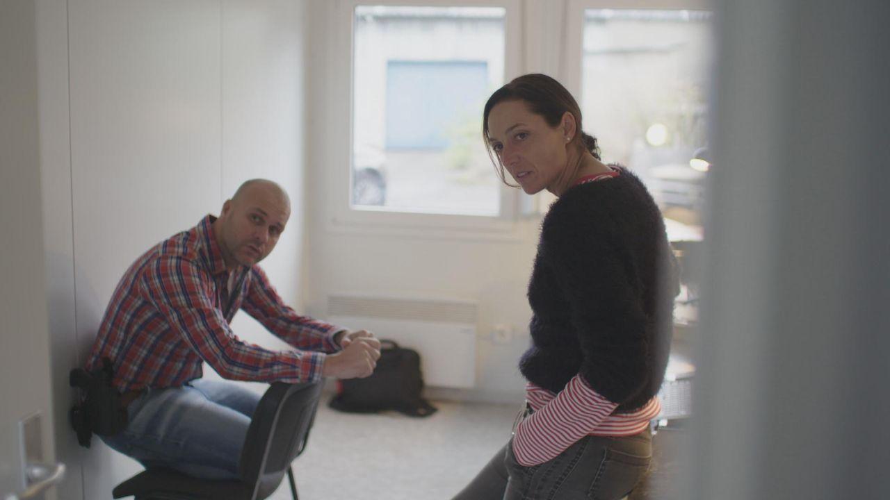 Die Kommissare Nadine Lohsen und Tom Zirke ermitteln in Dortmund - Bildquelle: SAT.1