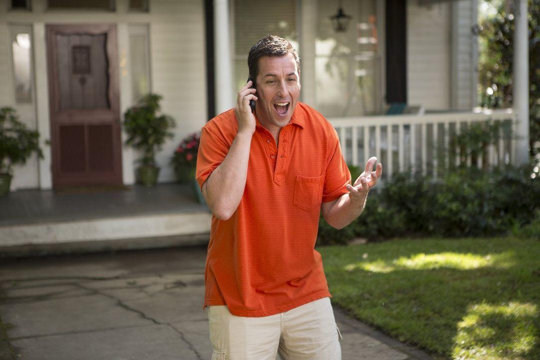 Auf Jim (Adam Sandler) und seine Kinder wartet ein Urlaub - mit ungeahnten Folgen ... - Bildquelle: Warner Brothers