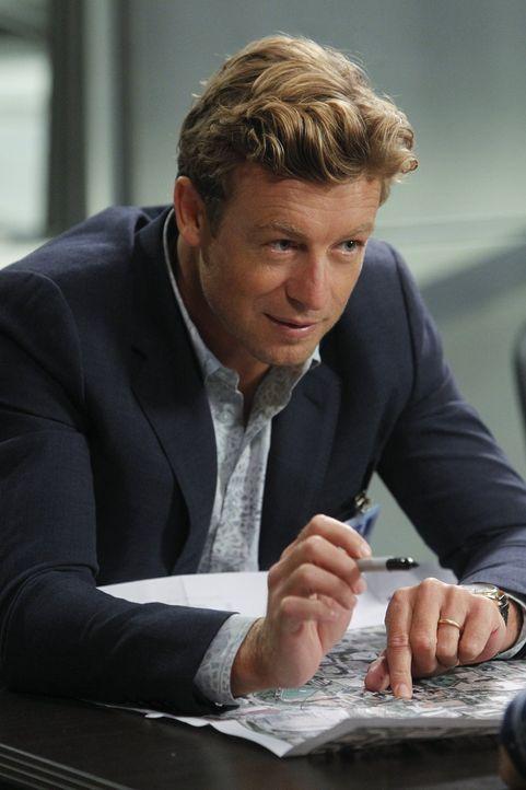 Gibt alles, um den Mörder des FBI-Undercover-Agent Jeremy Geist zu finden: Jane (Simon Baker) ... - Bildquelle: Warner Bros. Television
