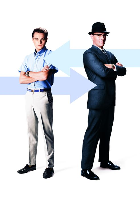 Catch Me If You Can mit Leonardo DiCaprio, l. und Tom Hanks, r. - Bildquelle: TM &   2003 DreamWorks LLC. All Rights Reserved