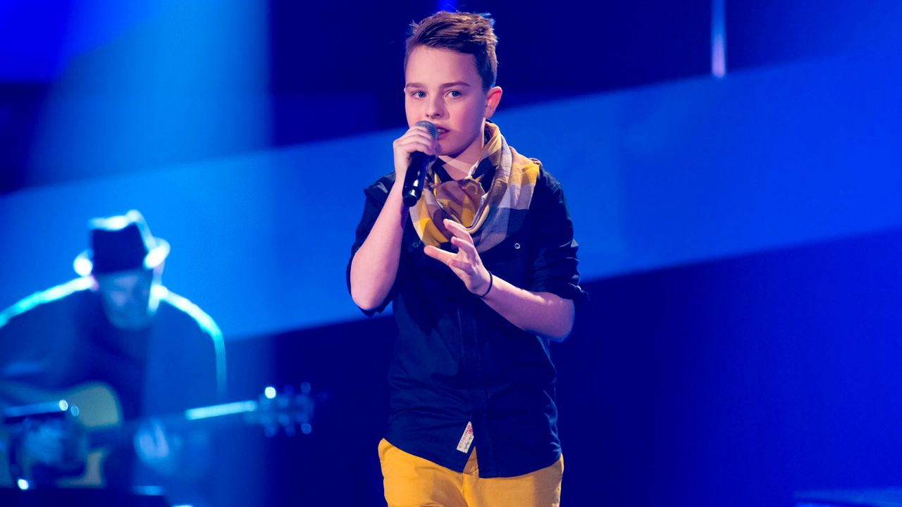 The-Voice-Kids-s01e03-Mike-S-09 - Bildquelle: SAT.1/Richard Hübner