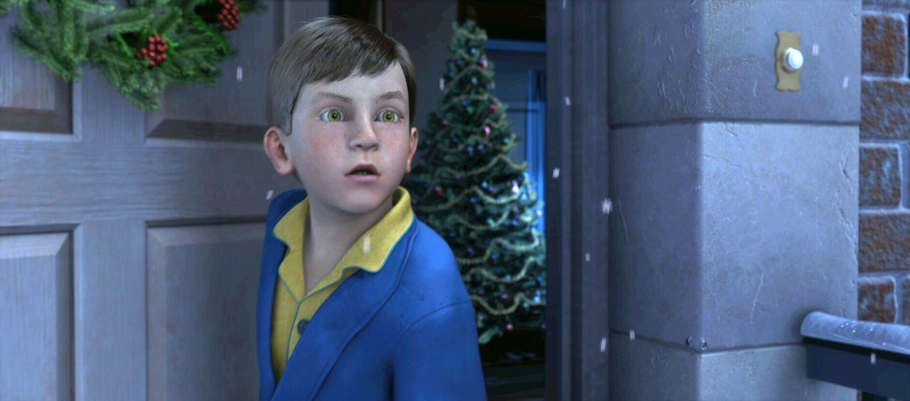 Träumt er, oder steht da wirklich eine riesige Dampflok direkt vor seiner Tür? Am Abend vor Weihnachten beginnt für den kleinen Jungen ein unverg... - Bildquelle: Warner Bros. Pictures