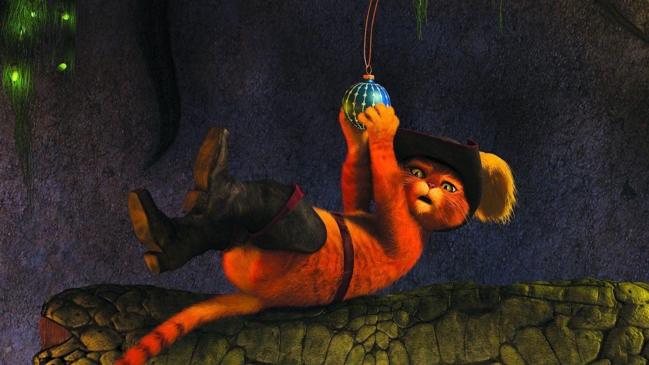 Gibt missverständliche Tipps: der gestiefelte Kater ... - Bildquelle: 2007   DreamWorks Animation LLC. All rights reserved.