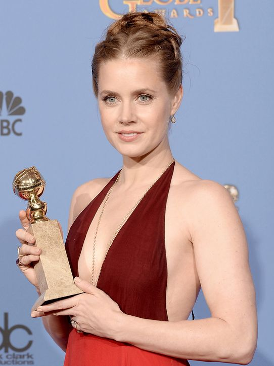 Golden-Globe-Amy-Adams-14-01-12-getty-AFP - Bildquelle: getty-AFP