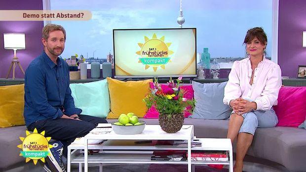 Frühstücksfernsehen - Frühstücksfernsehen - 08.06.2020: Besser In Die Woche Starten, Gekaufte Likes & Demos Ohne Abstand