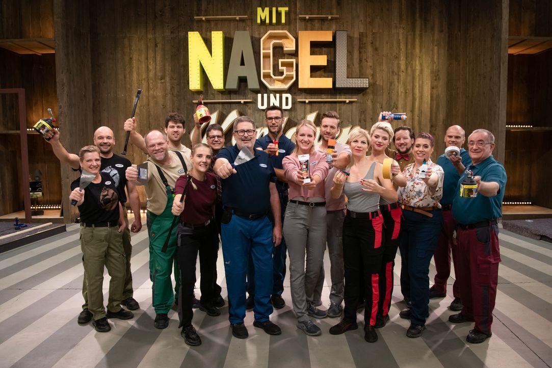 Mit Nagel und Köpfchen - Die große Kreativ-Challenge - Bildquelle: Claudius Pflug SAT.1 / Claudius Pflug