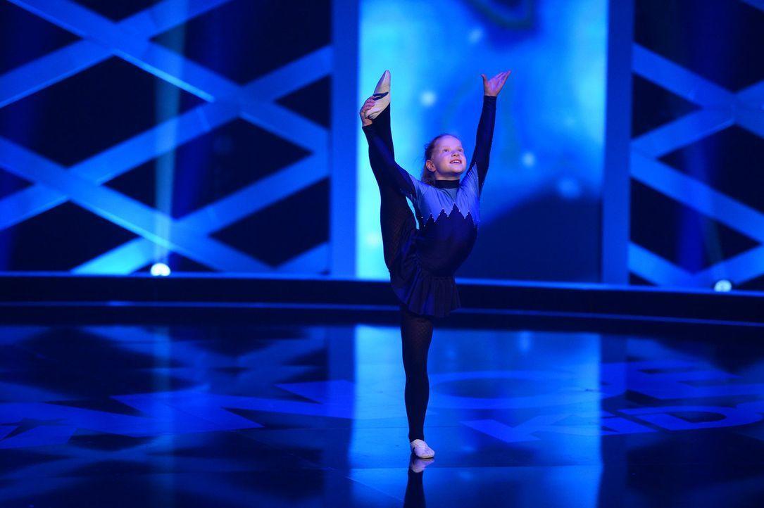 Hat Melina eine Chance auf den Titel? Sie versucht alles, um die Jury zu beeindrucken ... - Bildquelle: Willi Weber SAT.1