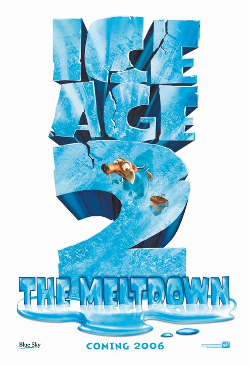 ICE AGE 2 - JETZT TAUT'S - Plakat - Bildquelle: ICE AGE THE MELTDOWN TM &   2006 Twentieth Century Fox Film Corporation. All Rights Reserved.