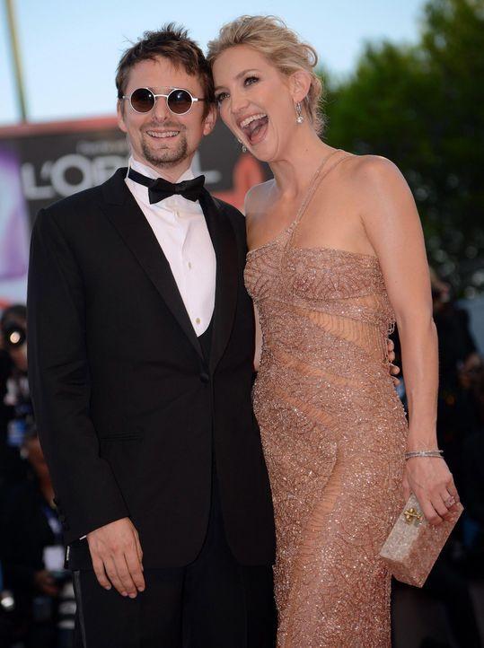 Kate Hudson und Matthew Bellamy - Bildquelle: +++(c) dpa - Bildfunk+++ Verwendung nur in Deutschland