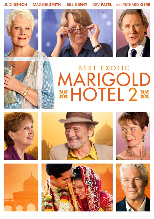Best Exotic Marigold Hotel 2 - Plakatmotiv - Bildquelle: 2015 Twentieth Century Fox Film Corporation.  All rights reserved.