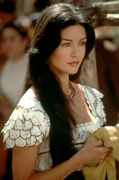 Die schöne Elena (Catherine Zeta-Jones) ist in den geheimnisvollen Zorro verliebt ... - Bildquelle: Columbia Pictures