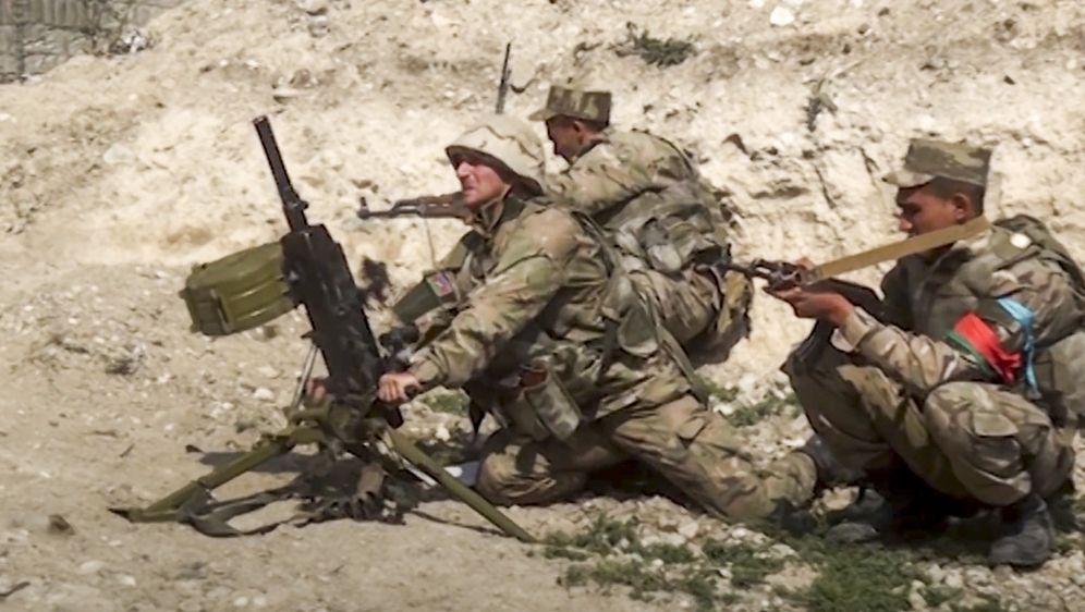 - Bildquelle: Uncredited/Azerbaijan's Defense Ministry/dpa