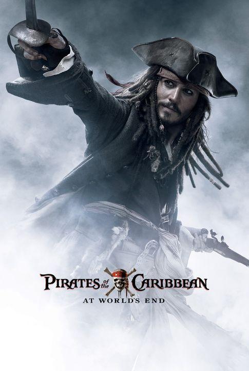 Pirates of the Caribbean - Am Ende der Welt - Plakatmotiv: Ein düsterer Schatten legt sich über die sieben Weltmeere und droht der Ära der Pirate... - Bildquelle: Disney Enterprises, Inc.  All rights reserved