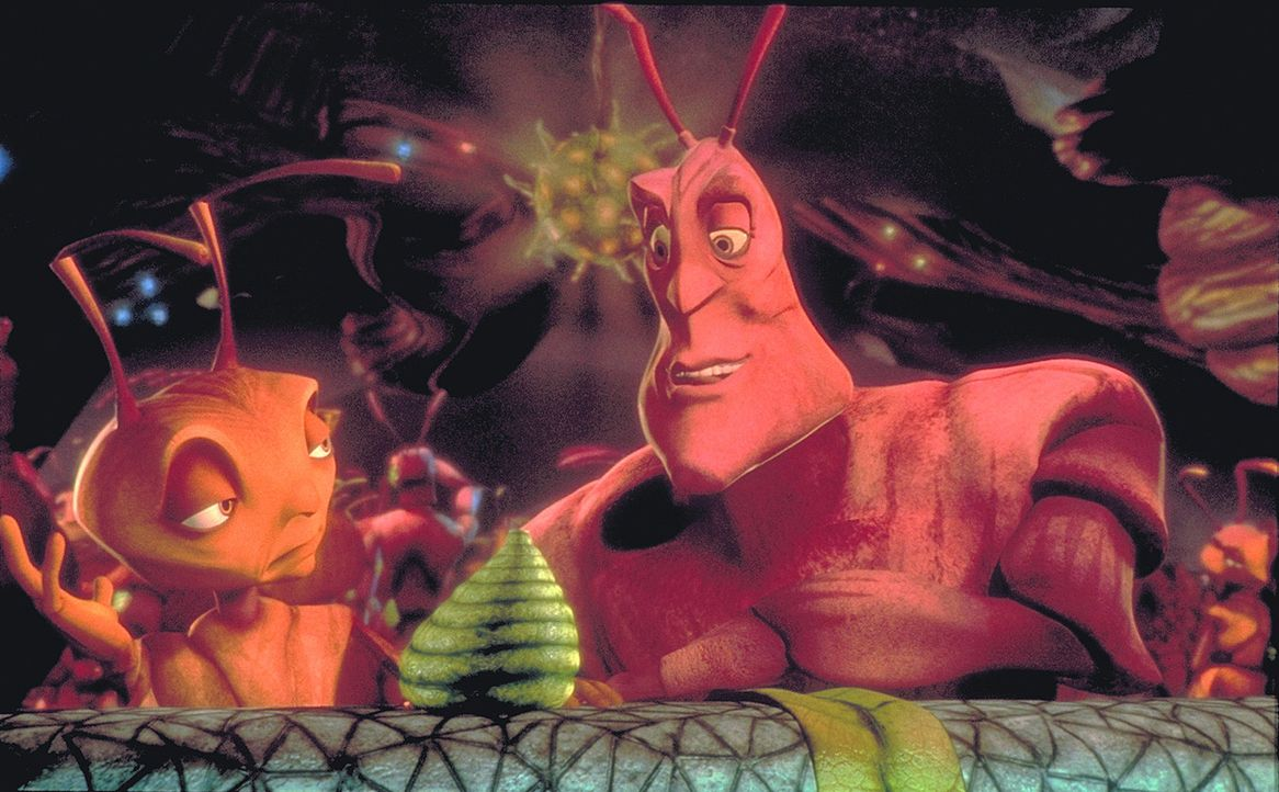In der Ameisenkolonie wird mit dem Tag der Geburt jeder weitere Lebensschritt festgelegt. Doch die beiden Freunde Weaver (r.) und Z (l.) haben eigen... - Bildquelle: DreamWorks Distribution LLC