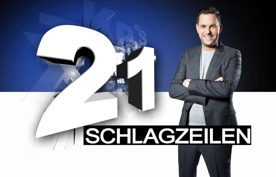 """In """"21 Schlagzeilen"""" präsentiert Moderator Matthias Killing dramatische, berührende und überraschende Geschichten, Ereignisse, Schicksale und Helden... - Bildquelle: Benedikt Müller SAT.1"""