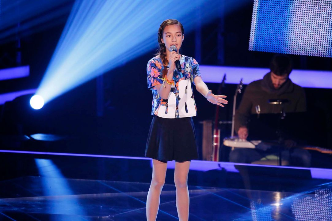 The-Voice-Kids-Stf04-Epi04-Claudia-SAT1-Richard-Huebner - Bildquelle: © SAT.1/ Richard Hübner