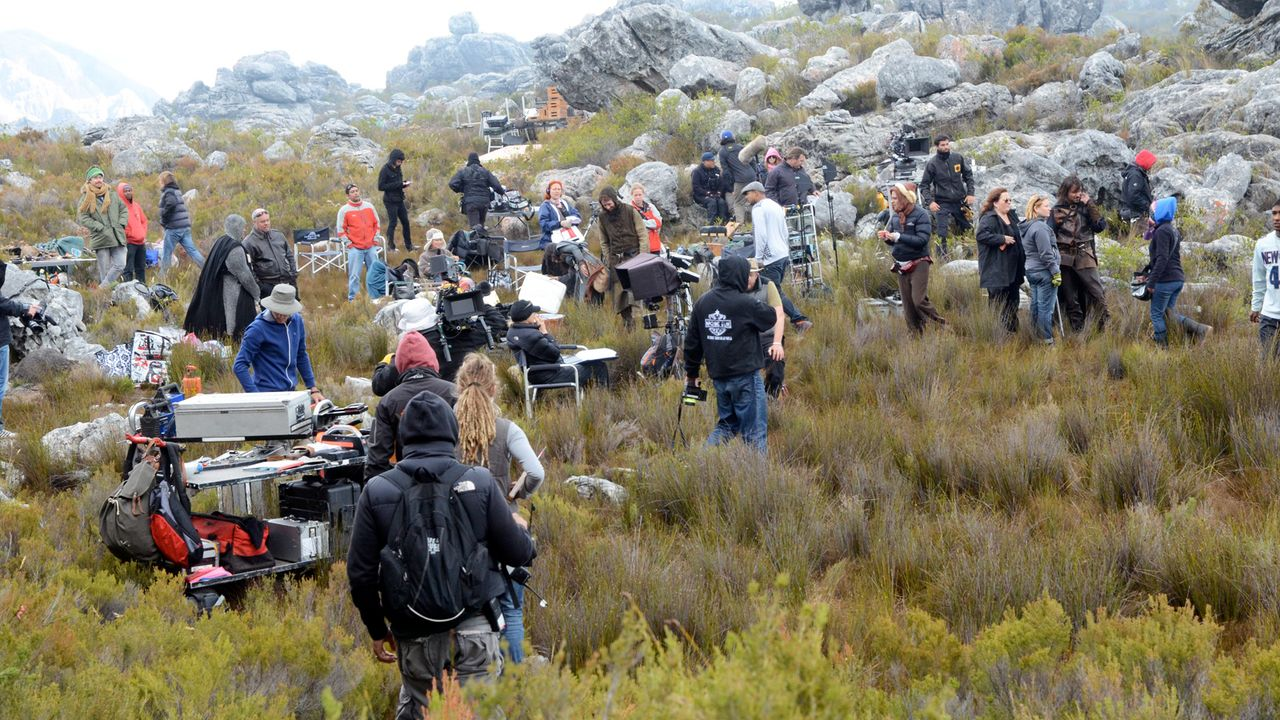 Das-verlorene-Labyrinth-Setbild-01-Tandem-Film-Afrika - Bildquelle: SAT.1/2011Tandem Productions GmbH & Film Afrika Worldwide (Pty) Limited South Africa. All Rights Reserved.