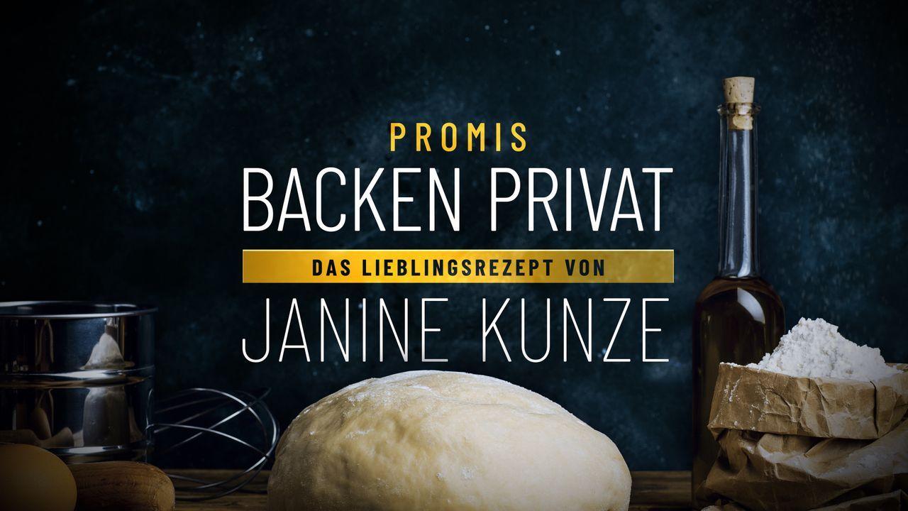 Promis backen privat - Das Lieblingsrezept von Janine Kunze - Logo - Bildquelle: SAT.1
