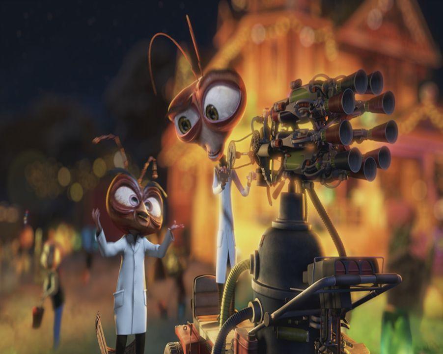Seine Erfindungen leiden meist an unangenehmen Nebenwirkungen: Dr. Kakerlake ... - Bildquelle: TM &   2009 DreamWorks Animation L.L.C. All Rights Reserved.