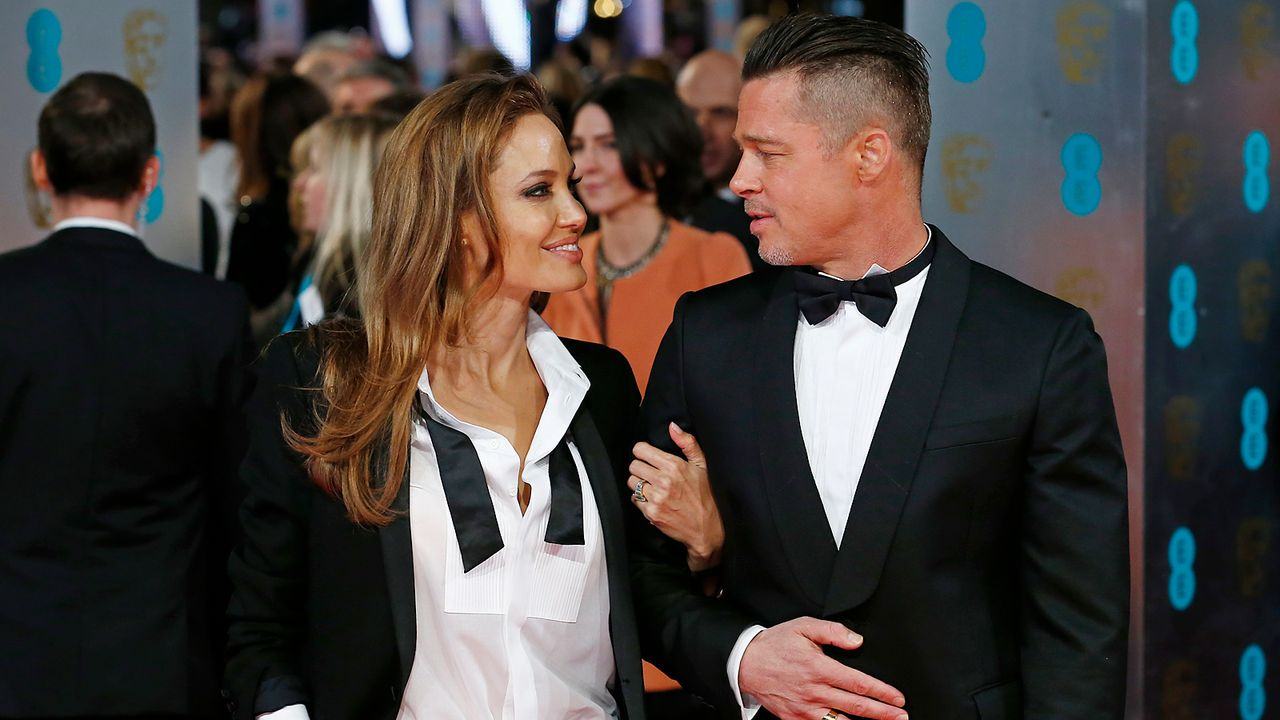BAFTA-Angelina-Jolie-Brad-Pitt-14-02-16-1-AFP - Bildquelle: AFP