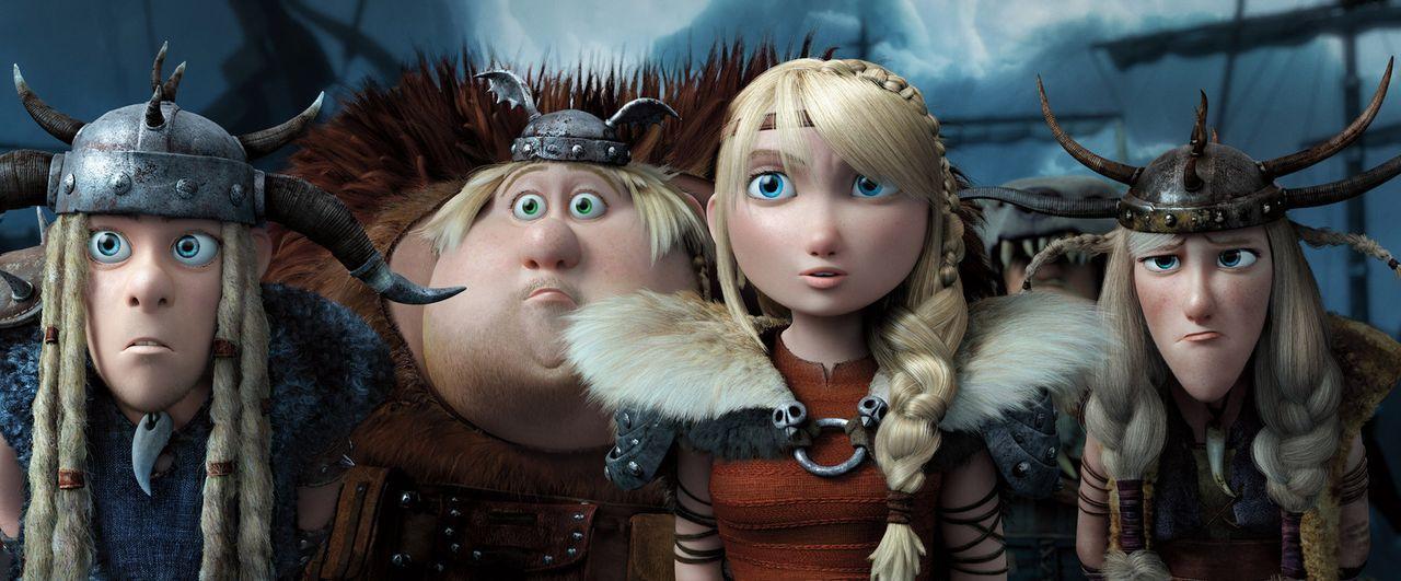 Hicks und sein Drache Ohnezahn müssen einen Wikinger stoppen, der die Drachen der Bewohner von Berk in seine Gewalt bringen und seiner Armee hinzufü... - Bildquelle: 2014 DreamWorks Animation, L.L.C.  All rights reserved.