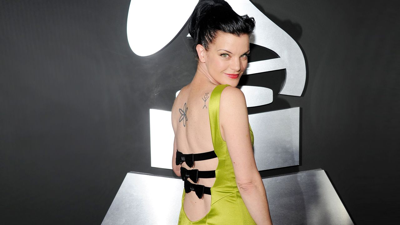 pauly-perrette-11-02-13-rueckenfrei-sexy-getty-AFP - Bildquelle: getty-AFP