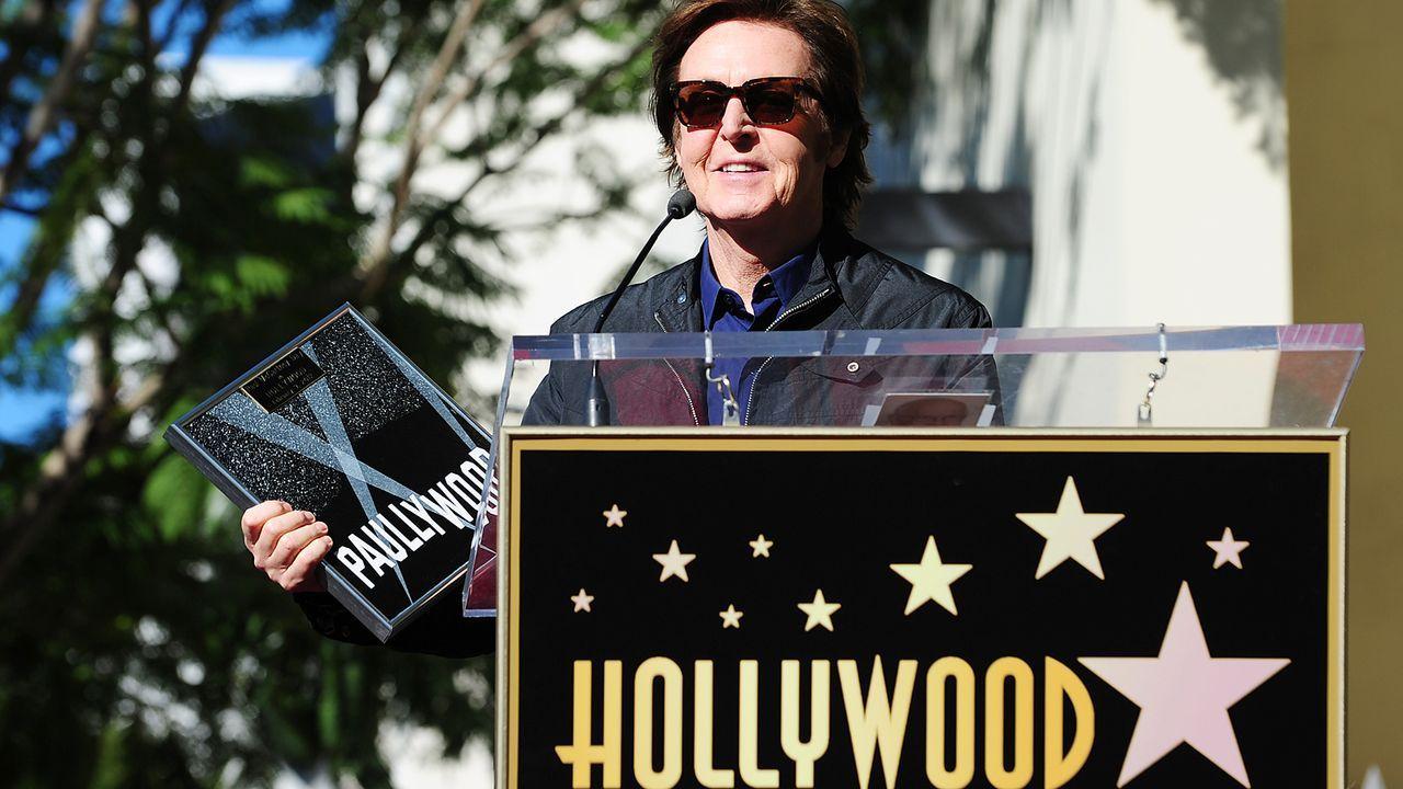 Sir-Paul-McCartney-walk-of-fame-12-02-09-AFP - Bildquelle: AFP
