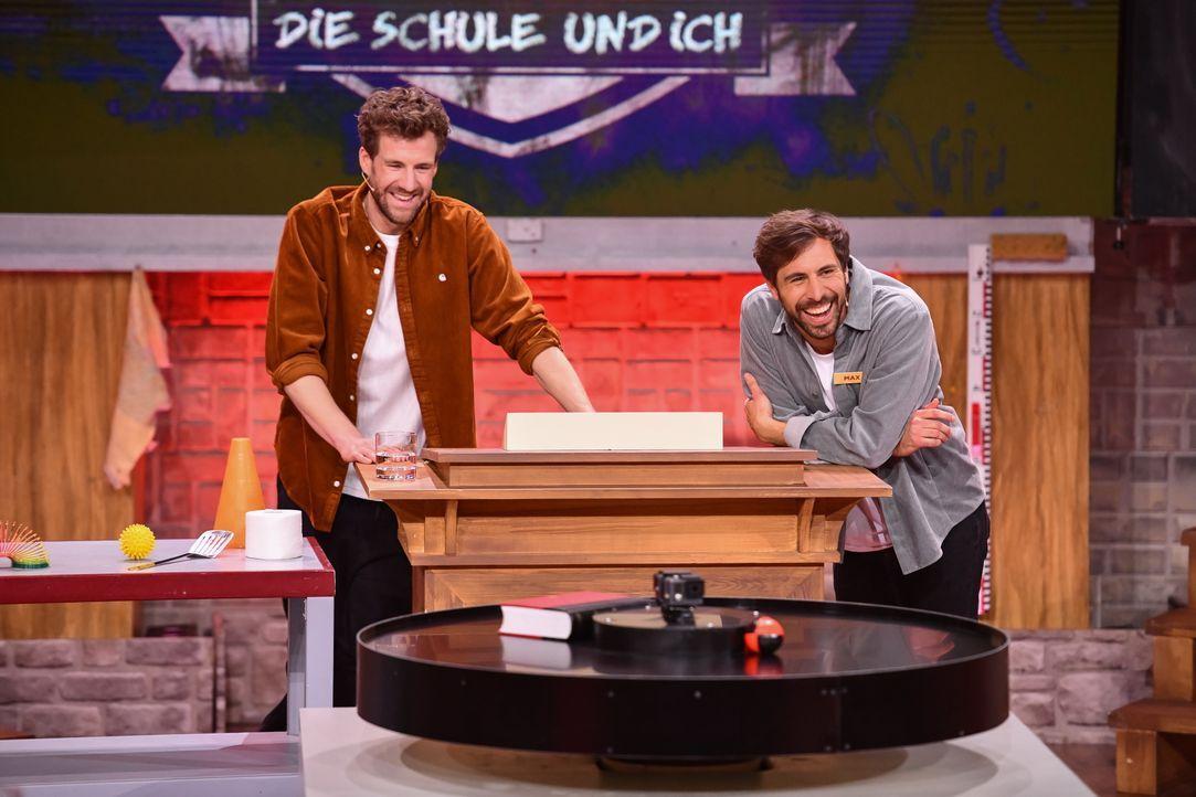 Luke Mockridge (l.); Max Giesinger (r.) - Bildquelle: Steffen Z. Wolff SAT.1 / Steffen Z. Wolff