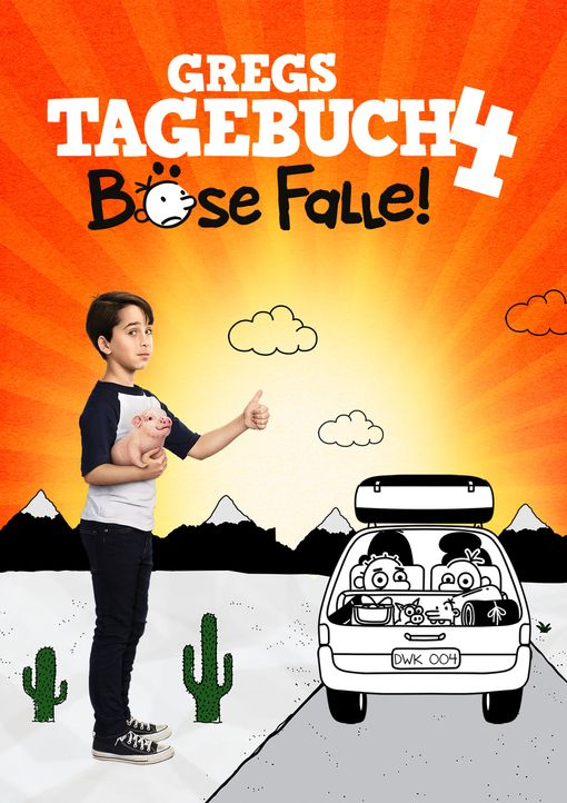 Gregs Tagebuch - Böse Falle! - Artwork - Bildquelle: 2017 Twentieth Century Fox Film Corporation. All rights reserved. DIARY OF A WIMPY KID, WIMPY KID & the Greg Heffley image are TM of Wimpy Kid