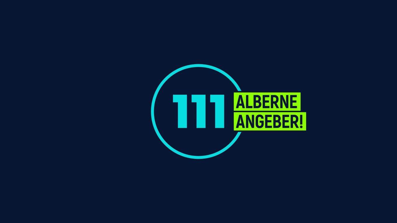 111 alberne Angeber! - Logo - Bildquelle: SAT.1