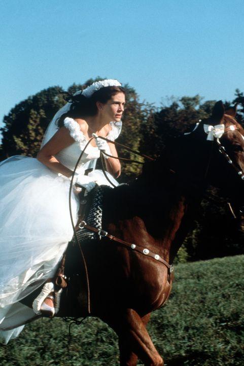 Die Braut, die sich nicht traut: Maggie Carpenter (Julia Roberts) ... - Bildquelle: Buena Vista International