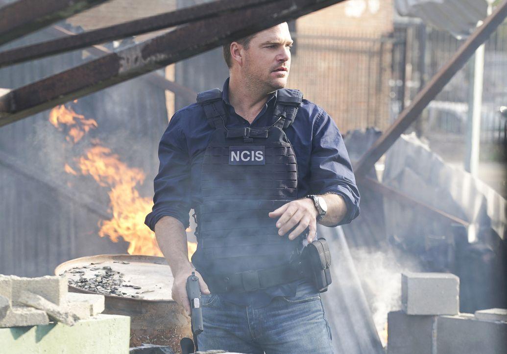 Setzt immer wieder sein eigenes Leben aufs Spiel: Callen (Chris O'Donnell) ... - Bildquelle: Monty Brinton 2016 CBS Broadcasting, Inc. All Rights Reserved.