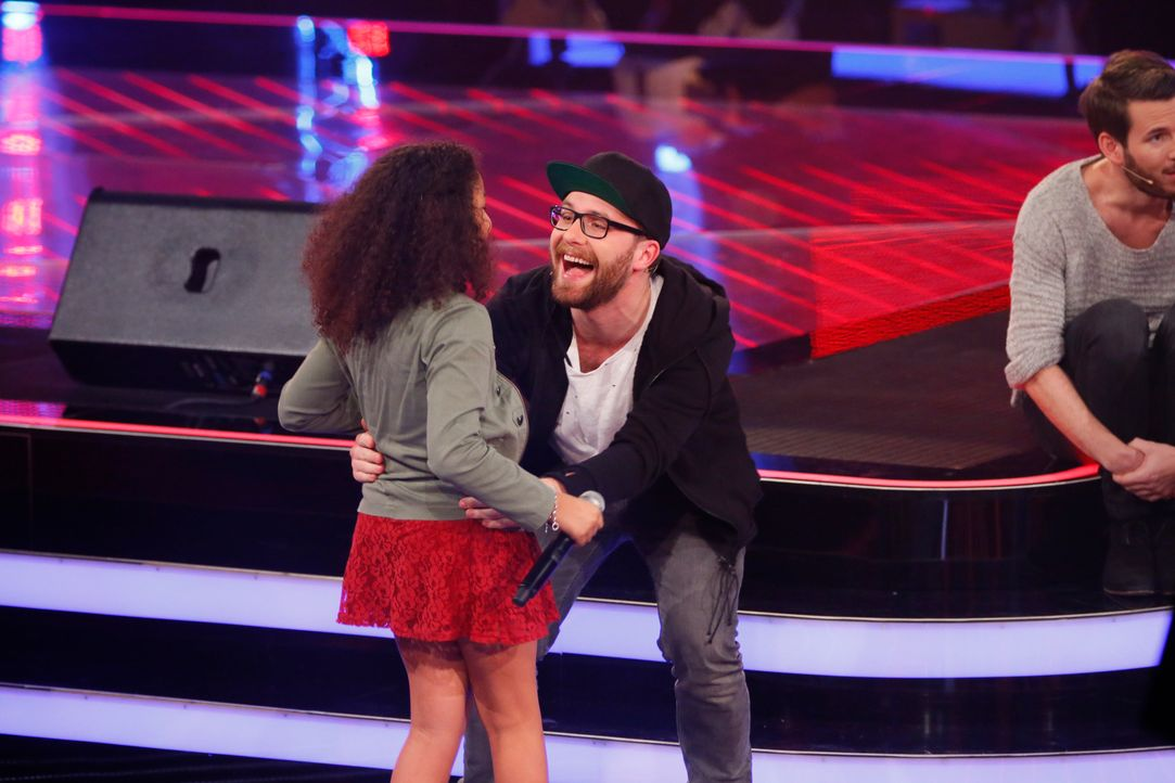The-Voice-Kids-s03e01-danach-Zoe-09 - Bildquelle: SAT.1/ Richard Hübner