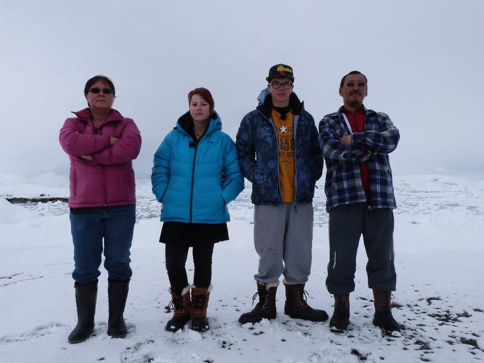 Auf Grönland ticken die Uhren anders: Die Insel ist dünn besiedelt, Vergnügungen gibt es kaum, und der Speiseplan ist auf Robben, Wale und Eisbä... - Bildquelle: SAT.1