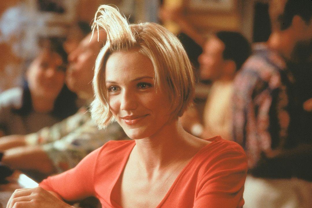 Die liebenswürdige Mary Jenson (Cameron Diaz) muss sich mit zahlreichen unbeholfenen Verehrern rumschlagen. Denn nicht nur die High School-Bekanntsc... - Bildquelle: 1998 Twentieth Century Fox Film Corporation. All rights reserved.