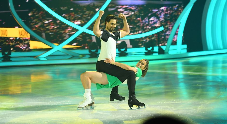 Klaudia mit k dancing on ice
