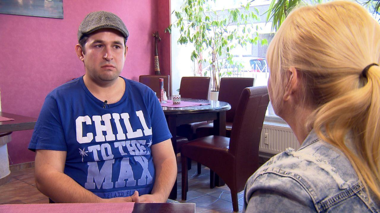 Otto will sich versöhnen: Durch seinen Alkoholismus zerbrach seine Familie, seine Kinder Sascha (l.) und Sonja hat er seit Jahren nicht mehr gesehen... - Bildquelle: SAT.1