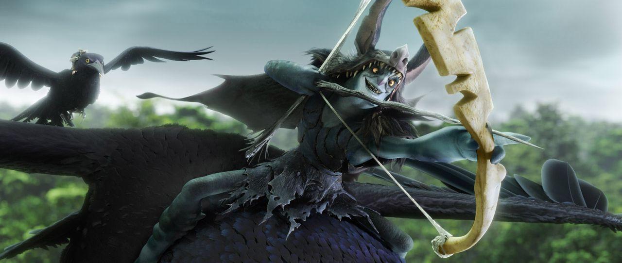 Mit ihm ist nicht zu spaßen: der tyrannische Herrscher Mandrake versucht alles, um die Macht über den Wald und deren Bewohner zu erobern ... - Bildquelle: 2013 Twentieth Century Fox Film Corporation. All rights reserved.