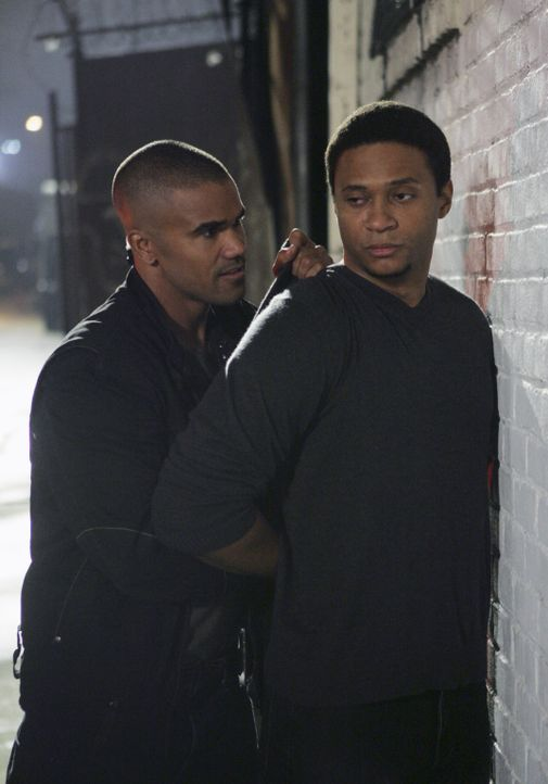 Derek Morgan (Shemar Moore, l.); Wakeland (David Ramsey, r.) - Bildquelle: Monty Brinton 2007 Touchstone Television. All rights reserved. NO ARCHIVE. NO RESALE.