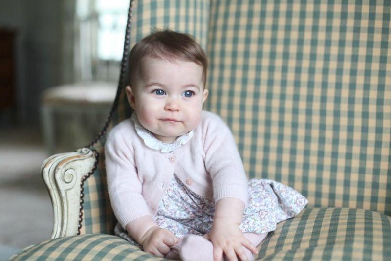 Prinzessin Charlotte wird geborenAm 2. Mai 2015 erblickt die kleine Charlott... - Bildquelle: dpa - Picture Alliance