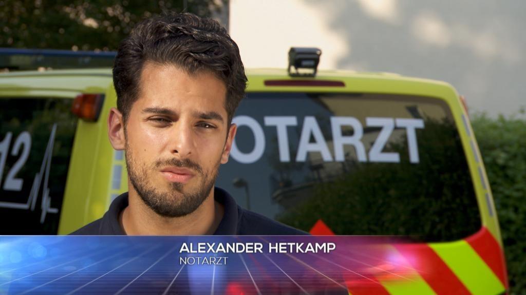 Notarzt - Alexander Hetkamp - Bildquelle: SAT.1