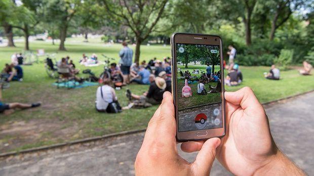 Spieler können Pokémon und Prämien einsammeln, müssen sich dafür aber tatsäch...