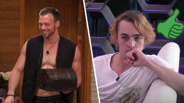 Big Brother - Big Brother - Folge 34: Der Bauer Der Woche Und Wissenstest Für Das Glashaus