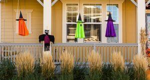 Der Feiertag wird in den USA üppig zelebriert – und der Gestaltung der Häuser...