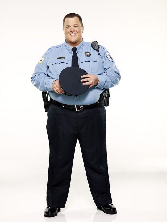 (1. Staffel) - Der gefühlvolle Polizist Mike Biggs (Billy Gardell) versucht sein Leben immer wieder mit Diäten in den Griff zu bekommen ... - Bildquelle: 2010 CBS Broadcasting Inc. All Rights Reserved.