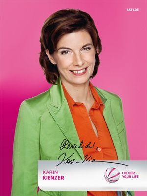 Karin-Kienzer-autogrammkarte - Bildquelle: SAT.1